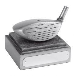 Golf trophy longest drive