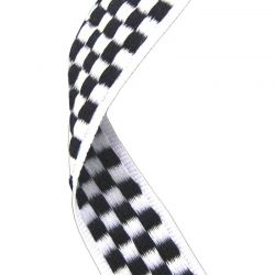 Chequered medal ribbon