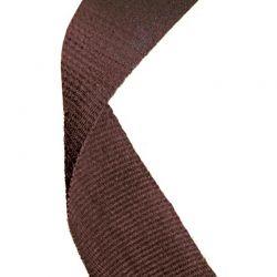 Brown medal ribbon