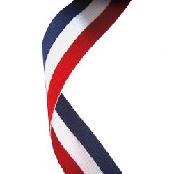Red White and Blue Medal Ribbon
