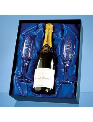 Champagne presentation box